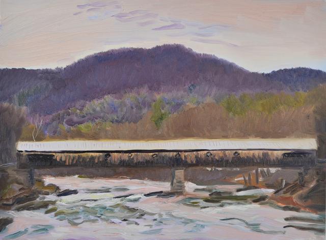 , 'West Dummerston Covered Bridge,' 2018, Canal Street Art Gallery