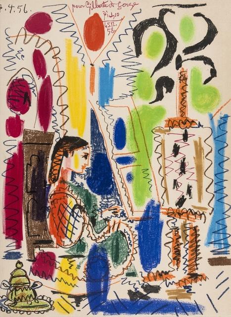 Pablo Picasso, 'L'Atelier de Cannes (Bloch 794; Mourlot 279)', 1958, Forum Auctions