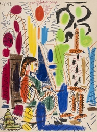 Pablo Picasso, 'L'Atelier de Cannes (Bloch 794; Mourlot 279),' 1958, Forum Auctions: Editions and Works on Paper (March 2017)