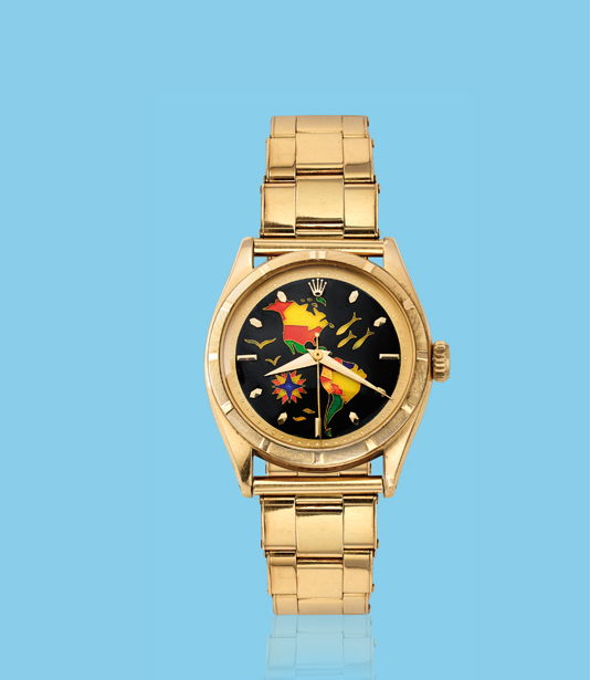 , 'Yellow gold wristwatch, ref. 6101,' ca. 1950, Davide Parmegiani Fine Watches