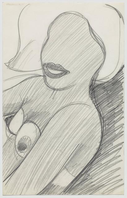 , 'Sitting Nude Torso,' 1964, Gagosian