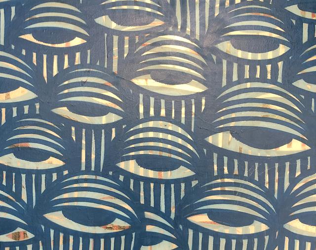 AholSniffsGlue, 'Untitled (Blue)', 2018, Miami Art Society