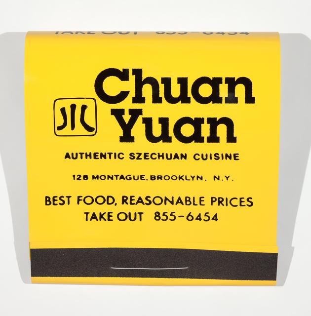 , 'Chuan Yuan,' 2016, Jonathan Ferrara Gallery
