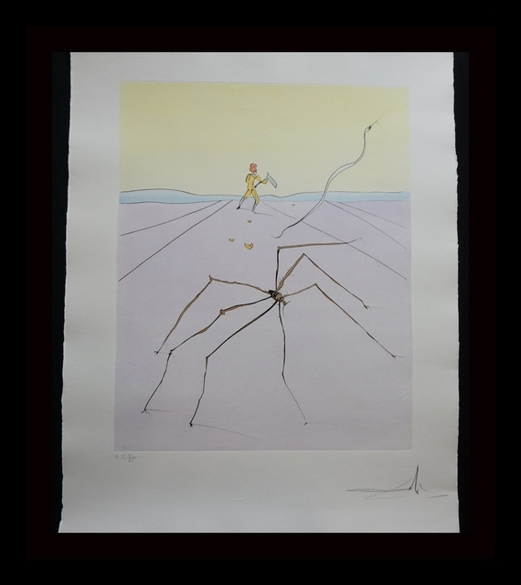 Salvador Dalí, 'Japanese Fairy Tale The Weaver Spider', 1976, Fine Art Acquisitions