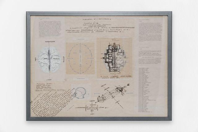 , 'Archive de l'architecte,' , Galerie Mitterrand