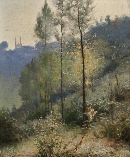 Charles Lasar, 'Paris', ca. 1900, Private Collection, NY