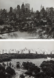 View From My Window, Central Park South 1956 and Philharmonic Concert, Sheep Meadow, Central Park