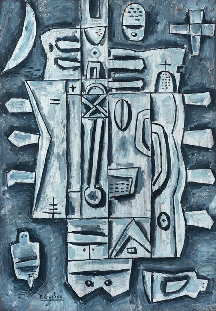 , 'Composición gris,' , Galería de las Misiones