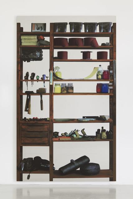 , 'Scaffali – attrezzi da falegname,' 2015, Luhring Augustine