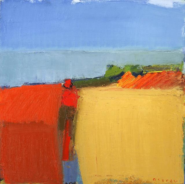 , 'Meadow to Sea,' 2018, Sue Greenwood Fine Art