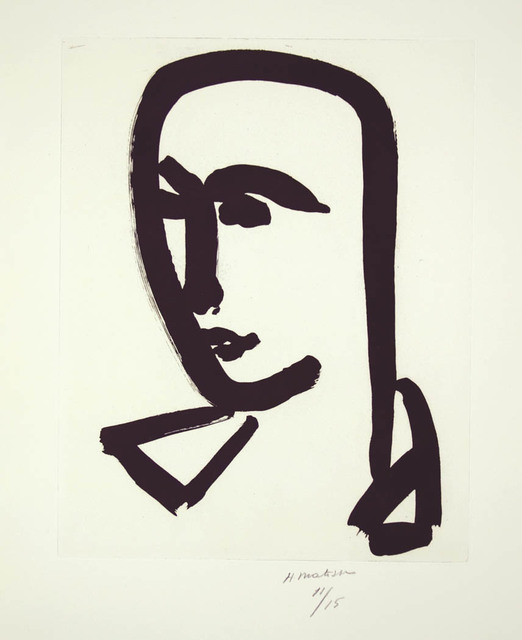 , 'Jeune étudieant de trois-quarts,' 1952, Marlborough Gallery