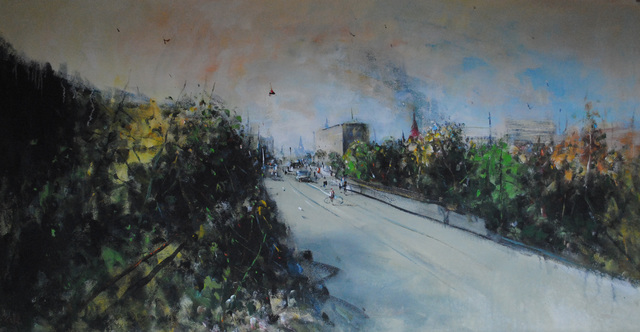 """, '""""The Road 12"""",' 2016, Krokin Gallery"""
