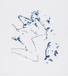 Tracey Emin, 'Beginning of me,' 2012, Forum Auctions: Editions and Works on Paper (March 2017)