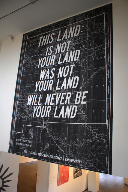 , 'This Land (New Mexico),' 2017, form & concept