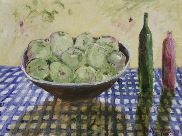 , 'Green Apples,' 2017, Michael Gibson Gallery