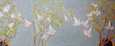 , 'Pink Datura,' , Bau-Xi Gallery