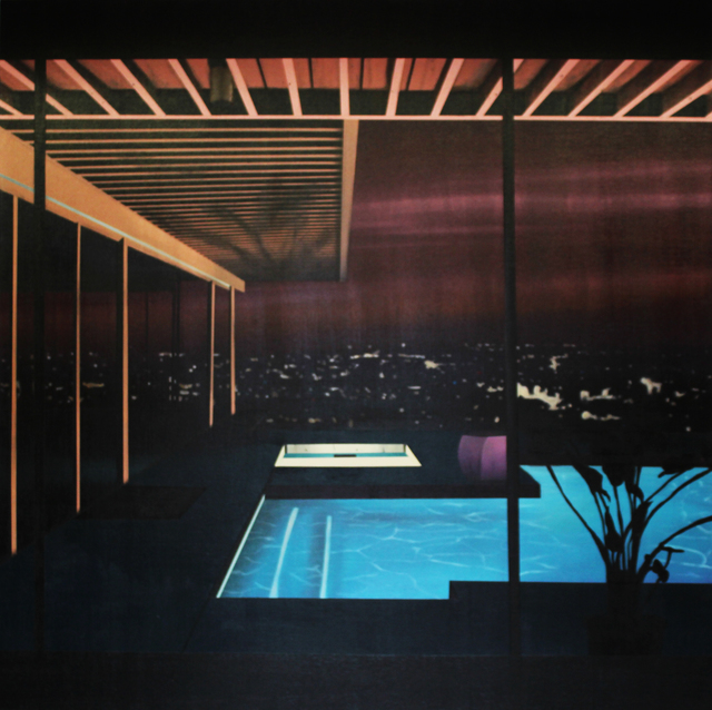 , 'Night Pool,' 2018, Rebecca Hossack Art Gallery