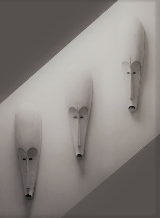 , '3 African Fang Masks,' , Linda Bird Ltd