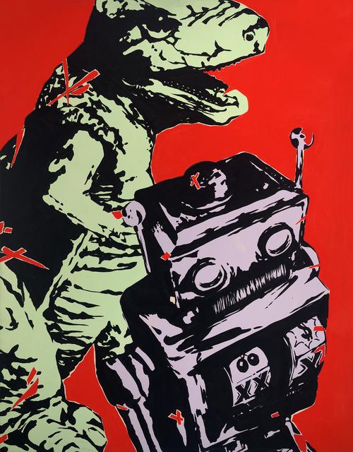 , 'Dino Toy,' 2015, Wallspace