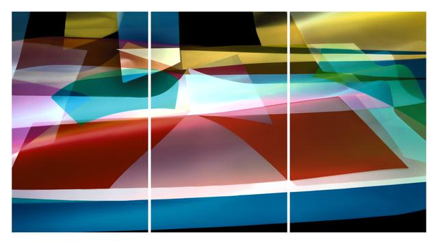 , 'Light form 9637, triptych,' 2019, OdA