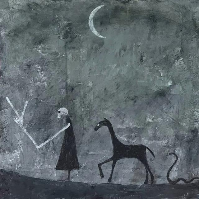 , 'Night Walk,' 2018, Lyle O. Reitzel