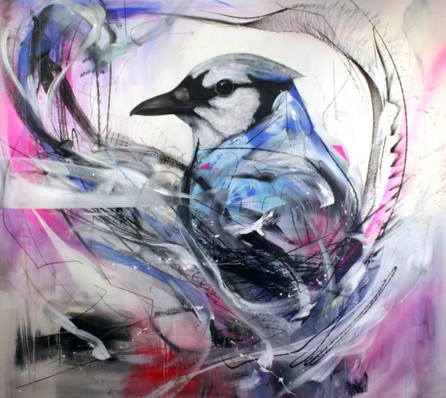 , 'Nobis Blue,' 2016, Station 16 Gallery