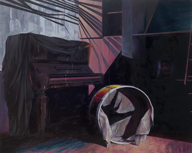 , 'Musikzimmer,' 2016, G2 Kunsthalle