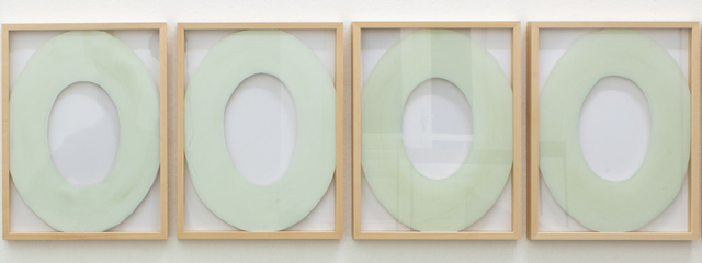 , 'Das Paradigma der Moderne als Fries,' 2016, Christine König Galerie