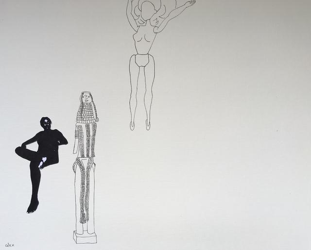 , 'Untitled with Turkana Figure,' 2017, Circle Art Agency