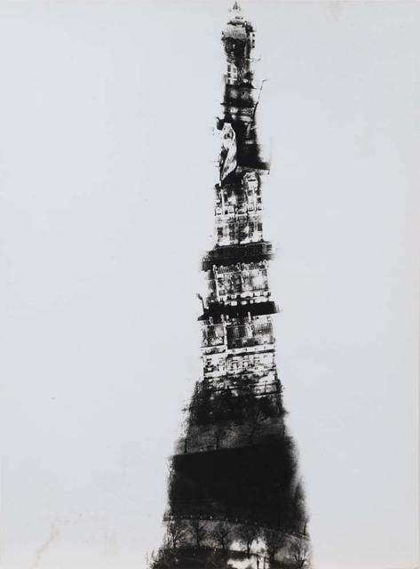 Erwin Blumenfeld, 'Shadow of the Eiffel Tower, Paris', 1938, Osborne Samuel
