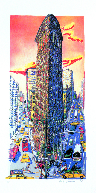 , 'Flatiron Building,' 1995, Marlborough Gallery