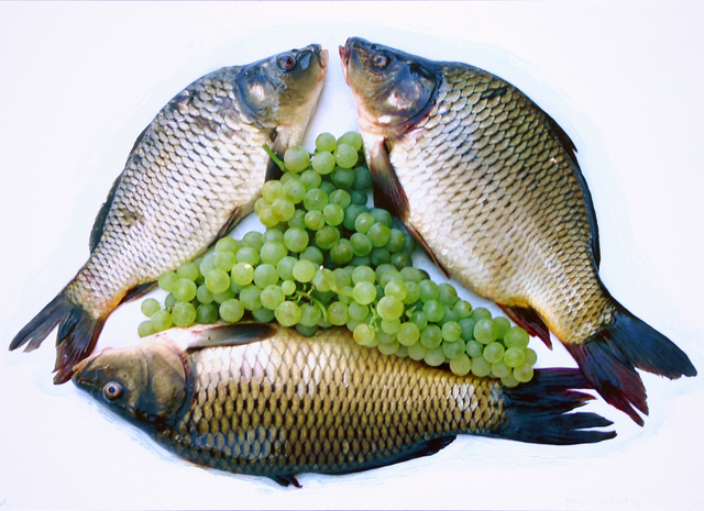 , 'THREE FISH WITH GRAPES,' 2003, VILTIN Gallery