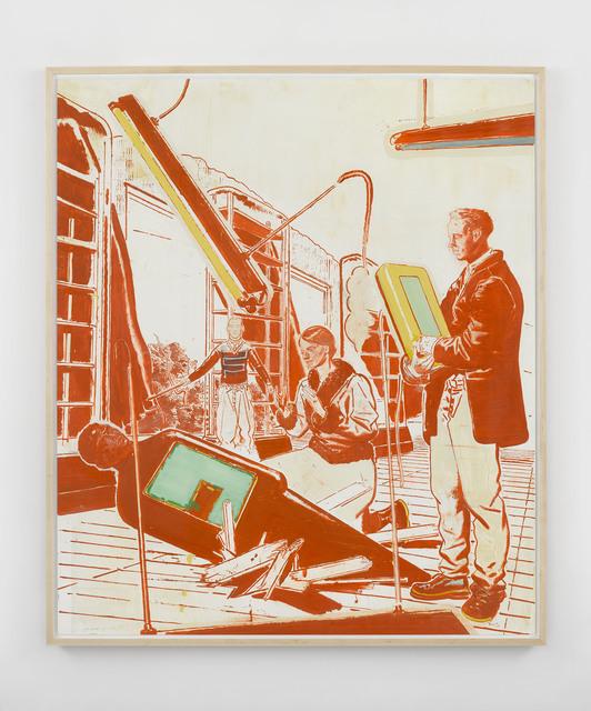 , 'Einbruch,' 1999, David Zwirner