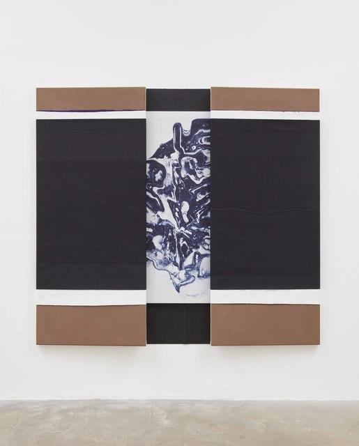 N. Dash, 'Untitled', 2019, Painting, Adobe, silkscreen ink, pigment, acrylic, canvas, linen, jute, Casey Kaplan
