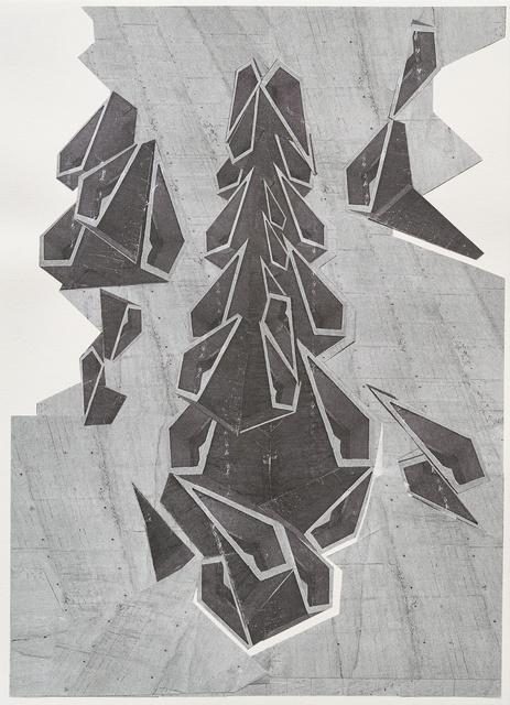 , 'Splitter,' 2016, Galerie Kandlhofer