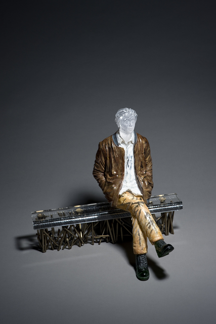 , 'Man Sitting on the Bench,' 2017, Gallery Sklo