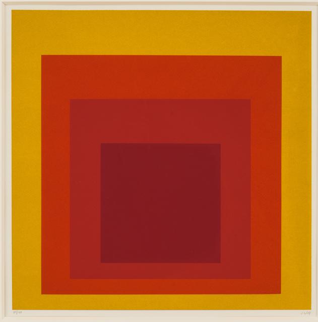 , 'Hommage au Carré,' 1965, Susan Sheehan Gallery