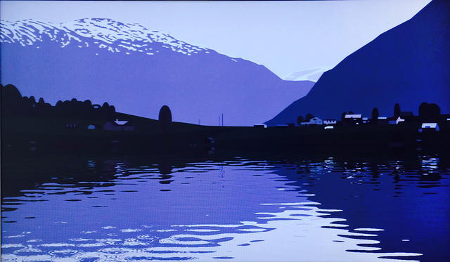 , 'I had made a couple of animated films of rippling water…..,' 2005, Mark Borghi Fine Art