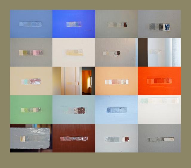 , 'Sem título (Captura das marcas na Maison La roche),' 2015, Galeria Filomena Soares