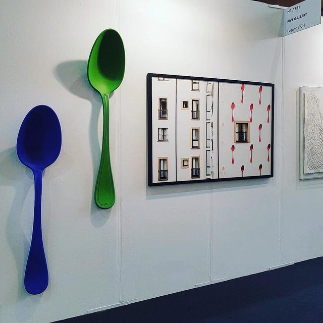 , 'Bruno Spoon-Green,' 2013, L'Atelier Ldep Concierge & Gallery