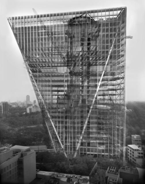 , '« SPECTOGRAFÍA, Torre Virreyes, Teodoro Gonzalez de León » ,' 2017, le laboratoire