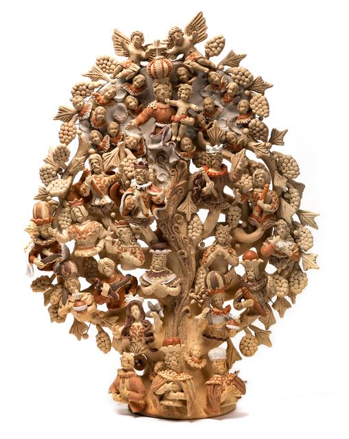 , 'Arbol Dominico Ceramics Mexican Folk Art Clay Tree of Life,' 2016, Cactus Fine Art