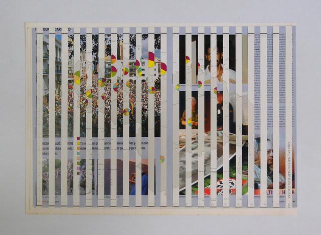 , 'Mapa Causa Mortal,' 2012, Carmen Araujo Arte