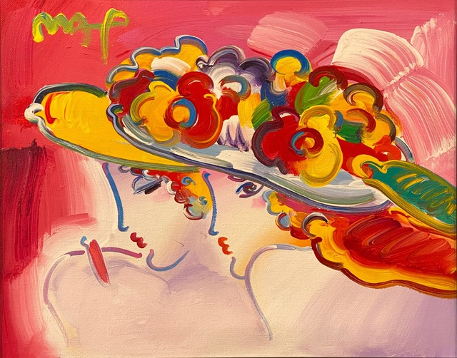 Peter Max, 'Friends - Century Ladies ', 2011, Painting, Original acrylic on canvas, Off The Wall Gallery