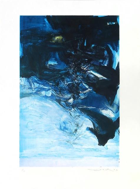 Zao Wou-Ki 趙無極, 'Untitled', 1970, Kings Wood Art