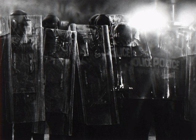 Robert Longo, 'Untitled (Riot Cops)', 2017, Vogtle Contemporary