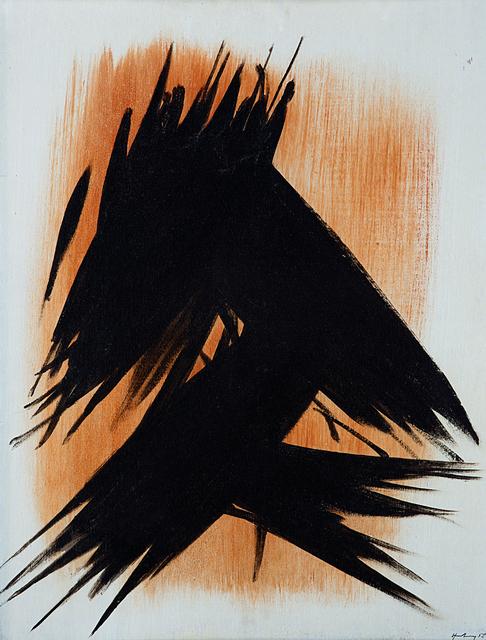 Hans Hartung, 'T1958-7', 1958, Il Ponte