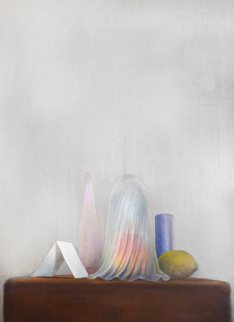 , 'STILL LIFE WITH LAMP SHADE AND FRUIT ,' 1968, Chris Beetles Gallery