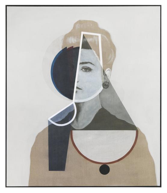 , 'Gestalt und Achse,' 2015, Almine Rech