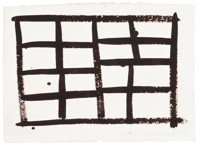 , 'Dibuix 027,' 2001, Galerie Floss & Schultz